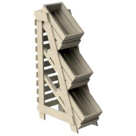 3 Tier 3 Crates Display Unit