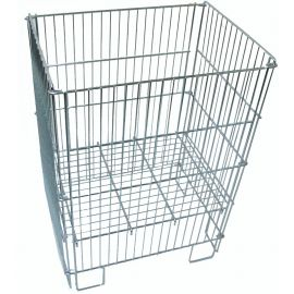 Collapsible Wire Dump Bin