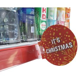 "Printed Roundels ""It's Christmas"" (Pk 10)"