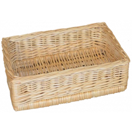 Steamed Natural Wicker Basket