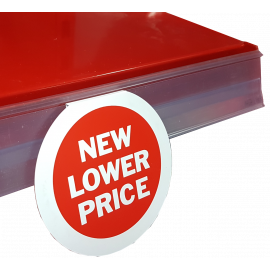"Printed Roundels  ""New Lower Price"" (Pk 10)"