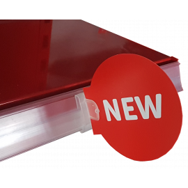 "Printed Roundels ""New"" (Red, Pk 10)"