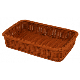Brown Polywicker Basket