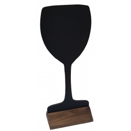 Wine Glass Shape Chalkboard